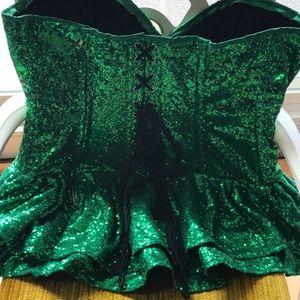 "Top Drawer by Daisy Corset- ""Vixen Ivy"" corset"